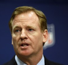 NFL Commissioner Roger Goodell dodged a sniper today